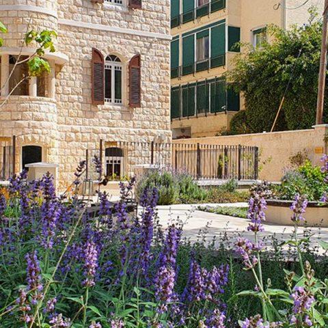 גן מלון שומאכר-חיפה
